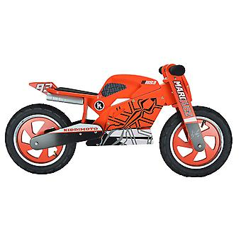 Kiddimoto Marc Marquez 2016 Superbike Wooden Balance Bike 2yrs+