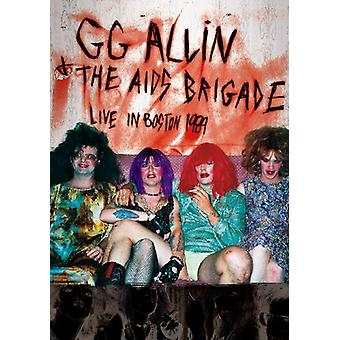Live in Boston 1989 [DVD] USA import