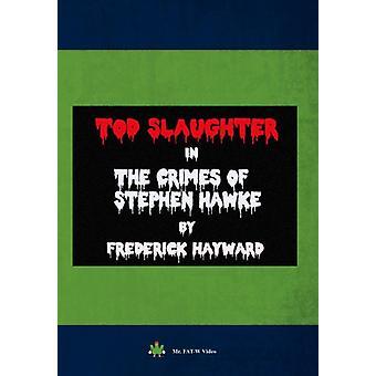 Importación de crímenes de Estados Unidos Stephen Hawke [DVD]