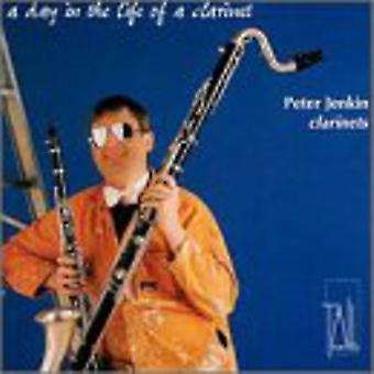 Peter Jenkin - en dag i livet for en klarinet [CD] USA importerer