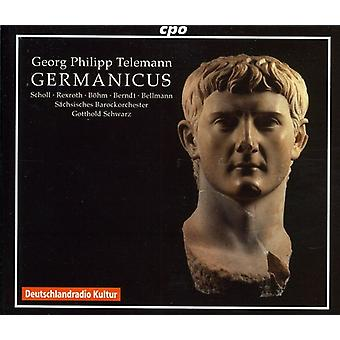 G.P. Telemann - Georg Philipp Telemann: Germanicus [CD] USA import