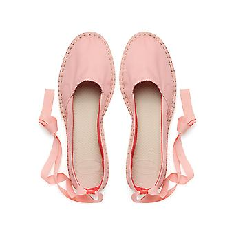 Women's Origine Slim Lace Up Espadrilles - Light Rose