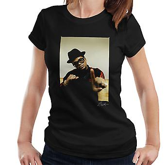 Run DMC Darryl McDaniels zeigen Damen T-Shirt