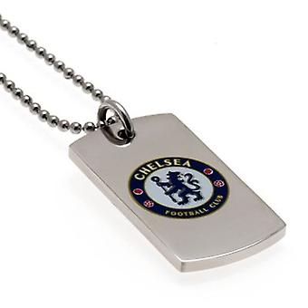 Chelsea Colour Crest hund Tag
