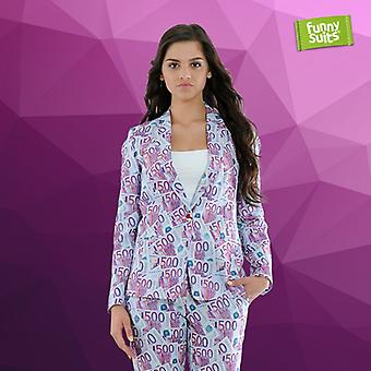 500 EURO banknote ladies suit the 500cc 2-piece costume deluxe EU SIZES