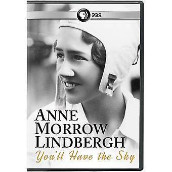Anne Morrow Lindbergh: You'Ll Have the Sky [DVD] USA import