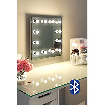 Diamante X pared Hollywood Audio espejo con LED regulable k411CWaud