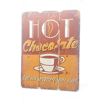Listwa z gorącej czekolady
