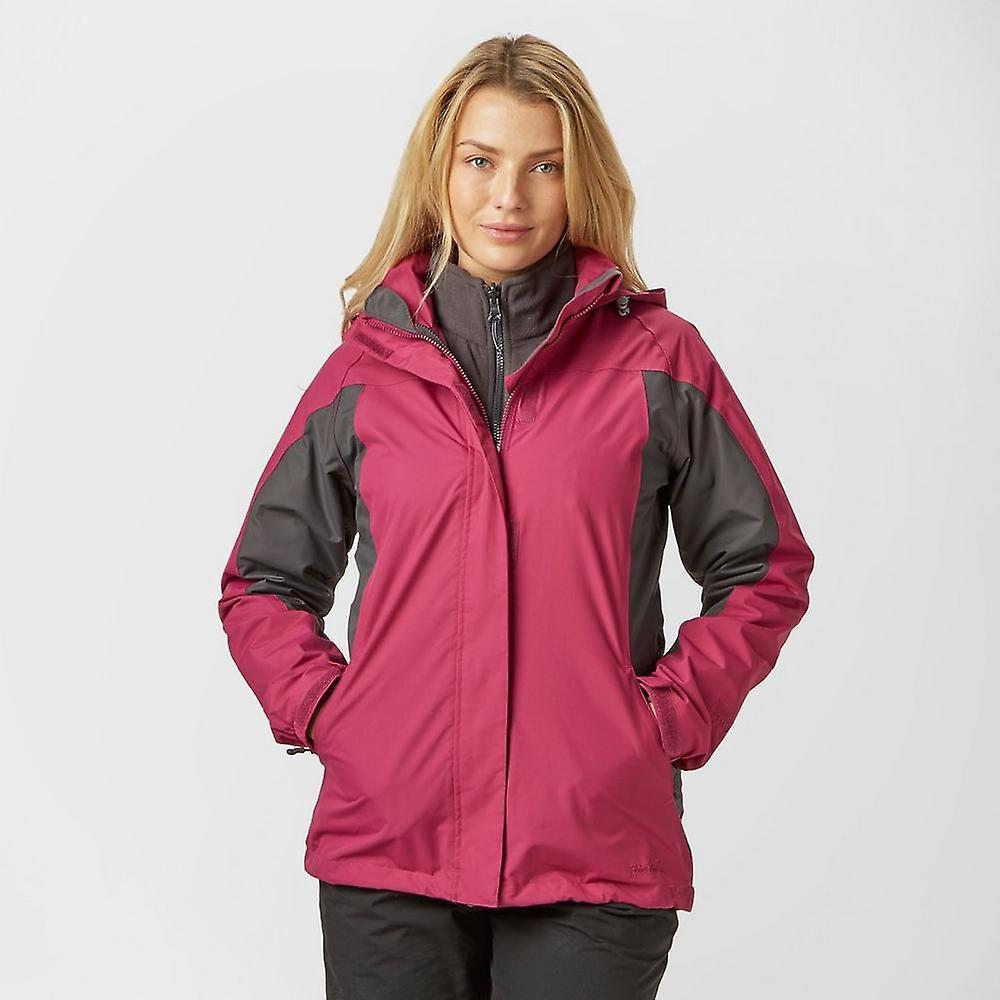 nouveau Peter Storm femmes& 039;s Lakeside 3 in 1 veste de plein airs Active Clothing rose