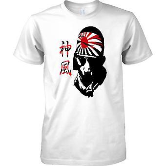 Vento divino kamikaze - pilota giapponese - guerra mondiale - WW2 Mens T-Shirt