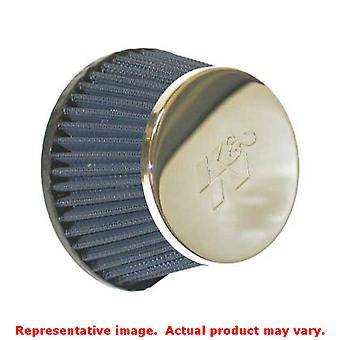 K&N Universal Filter - Marine Flame Arrestor 59-5005 Chrome 0 in (0 mm) Fits:UN