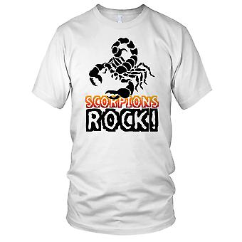 Scorpions Rock Insect Lover Mens T Shirt