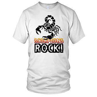Schorpioenen Rock Insect minnaar Mens T Shirt
