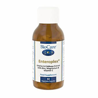 Biocare Enteroplex (containing cabagin & liquorice), 60 vegi capsules