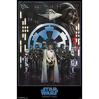 Star Wars Rogue One� - Empire Poster Poster Print
