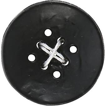 9 Hole Buttons-Small Black 1