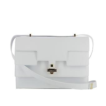 Giancarlo Petriglia women's 223EVARBIANCO White Leather shoulder bag
