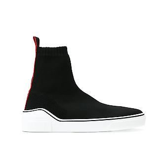 Givenchy men's BH000TH01Q004 white/black nylon ankle boots