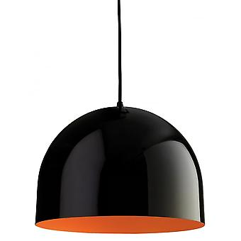 Firstlight Art Deco Black Ceiling Hanging Pendant Light