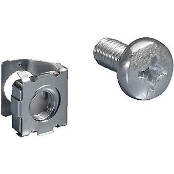 Spring nut with screw Steel Rittal