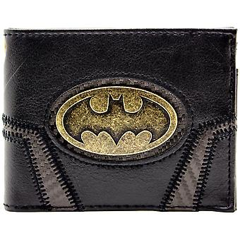 DC Batman Gold badge Suit Up ID & Card Bi-Fold Wallet