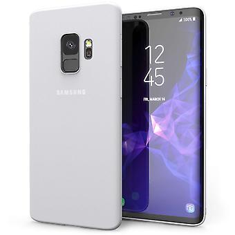 Samsung Galaxy S9 Matte Gel - Transparent White