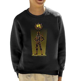 Fortnite Schatten der Raptor Kinder Sweatshirt