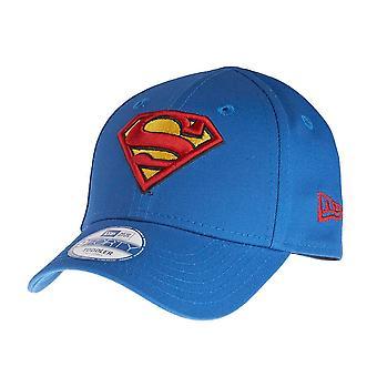 New era 9Forty KIDS Cap - SUPERMAN royal