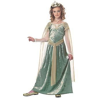 Queen Guinevere Renaissance Medieval Girls Costume