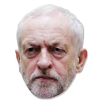 Jeremy Corbyn British Politician 2D Card Party Face Mask