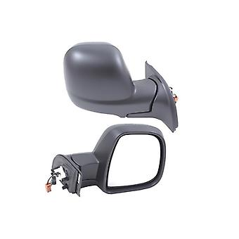 Right Mirror (electric heated, Black cover) For Peugeot PARTNER van 2012-2018