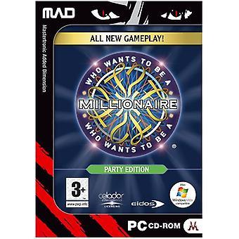 Hvem ønsker at være en millionær Party Edition (PC CD)