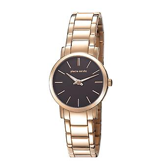 Pierre Cardin ladies watch wristwatch BONNE NOUVELLE Rosé PC106632F09