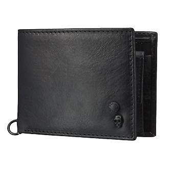 Sac à main pochette sac à main en cuir noir du Replay 4569