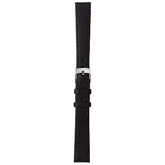 Morellato bracelet Sprint uniquement - Napa cuir noir 18mm A01X2619875019CR18 Watch