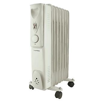 Lloytron Stay Warm 7 Fin Oil Radiator 1500 W - White (Model No. F2602GR)