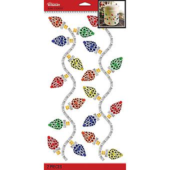 Jolee's Boutique Dimensional Stickers-Holiday Lights Mega Bling