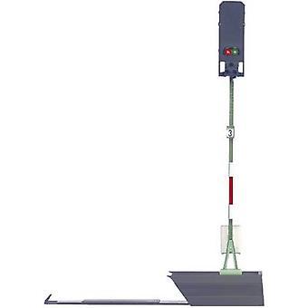Märklin 76491 H0 ljus block signal monterad DB