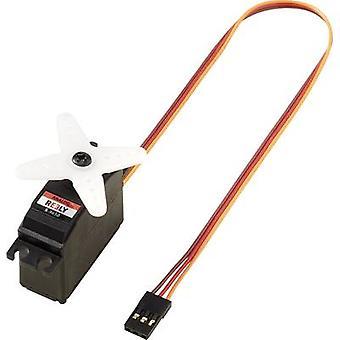 Servo de análogo de servo S-9650 de Midi Reely material de caixa de engrenagem: sistema de conector de plástico: JR