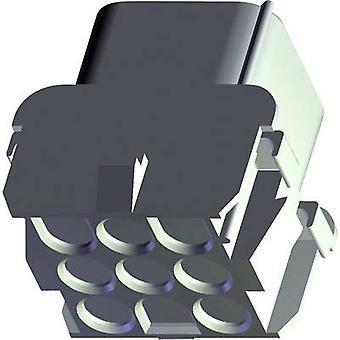 Invólucro de TE conectividade soquete - número Total de Universal-MATE-N-LOK de cabo de pinos 3 927231-3 1 computador (es)