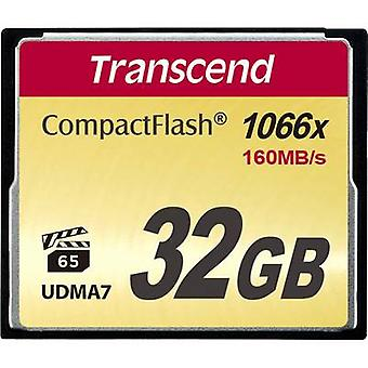 CompactFlash card 32 GB Transcend Ultimate 1066x