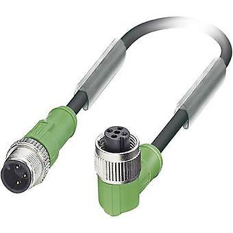 فينيكس الاتصال 1681567 ساك-ف 3-M12MS/M12FR/1، 5-البولي يوريثان استشعار/كابل المحرك