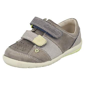 Мальчики Clarks первая обувь мягко Mac