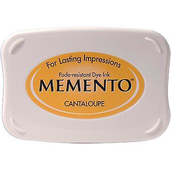 Memento Dye Ink Pad-Cantaloupe