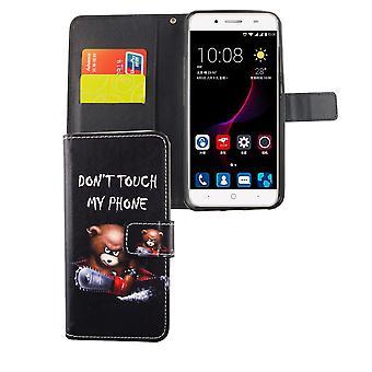 Mobile sag taske til mobiltelefon ZTE blade A2 plus logo bære over med motorsav