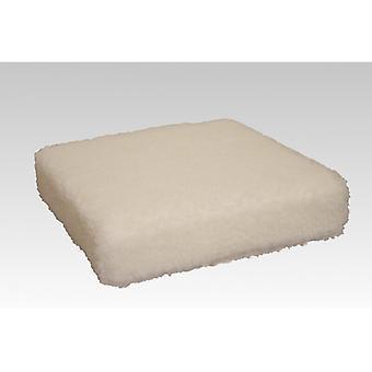 وسادة مقعد الداعم مساعدة مدرج الطبيعية 40 × 40 × 10 سم