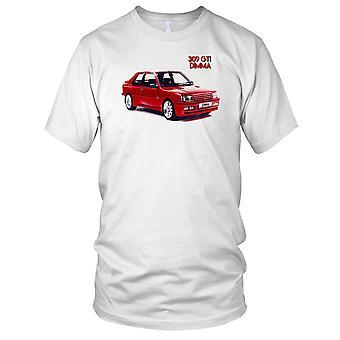 Peugot 309GTi DMMA Classic Car Ladies T Shirt