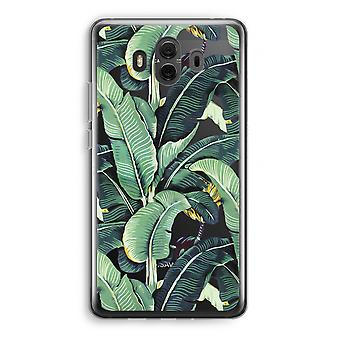 Huawei Mate 10 Transparent Case (Soft) - Banana leaves