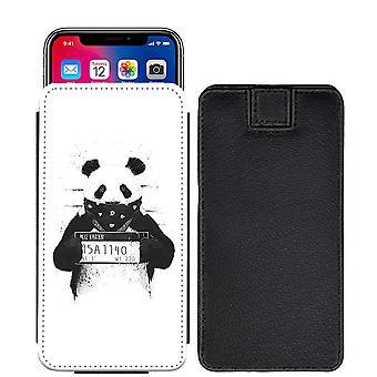 Panda speziell bedruckte Pull Tab Tasche Telefon Gehäusedeckel für Asus Zenfone AR ZS571KL [L] - Panda06_web