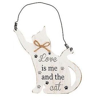 Purrfect Pals Hanging Cat Plaque Me